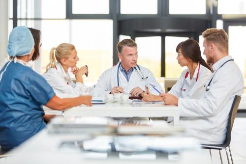 doctor meeting