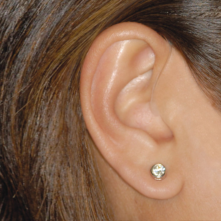 hearing aid receiver in cancal